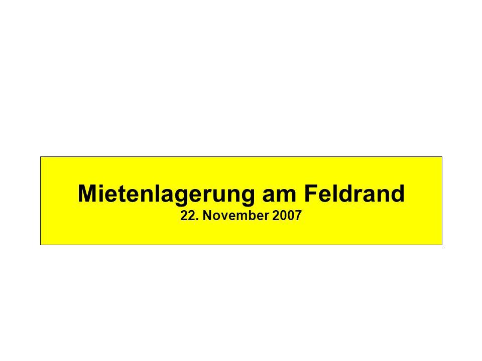 ÖKL – Feldrandlagerung Mietenlagerung am Feldrand 22. November 2007