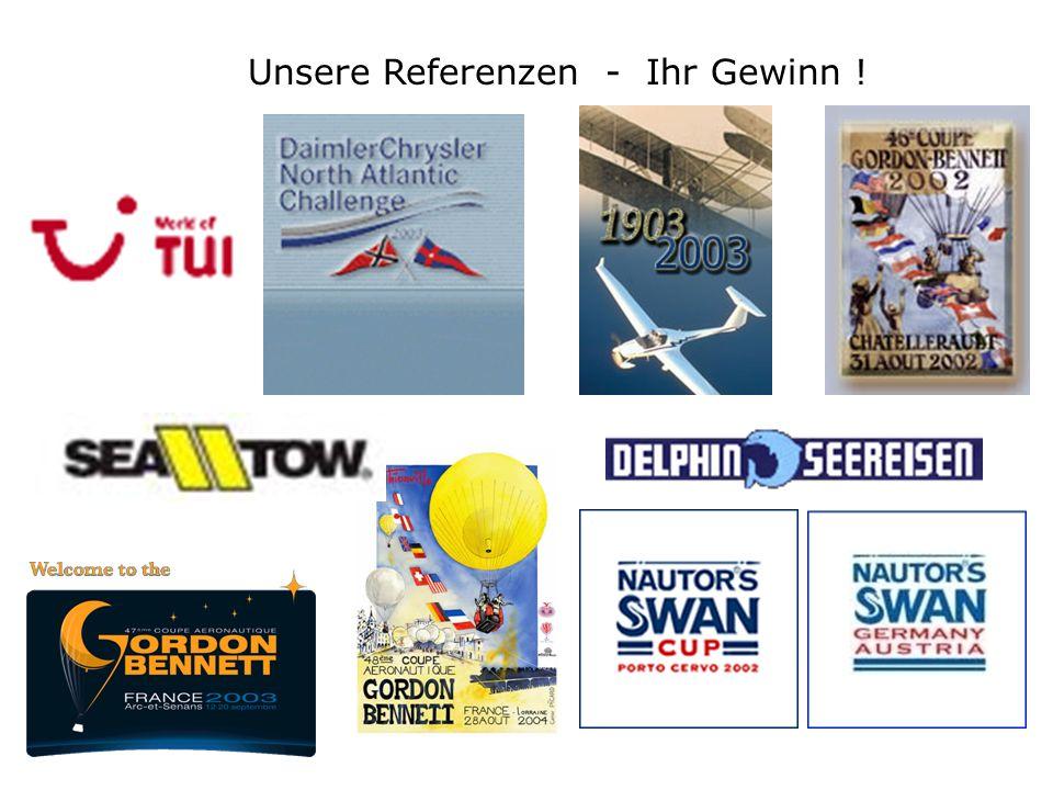Unsere Referenzen - Ihr Gewinn !