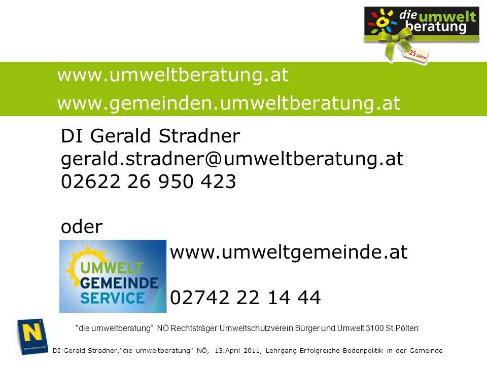DI Gerald Stradner,