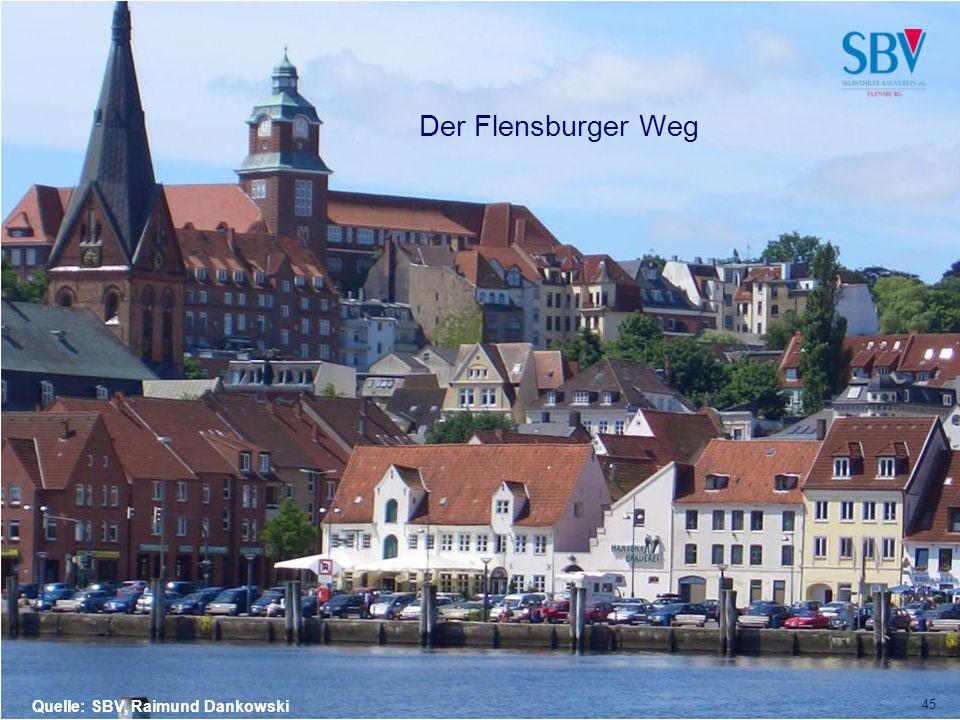 Raimund Dankowski Der Flensburger Weg Quelle: SBV, Raimund Dankowski 45