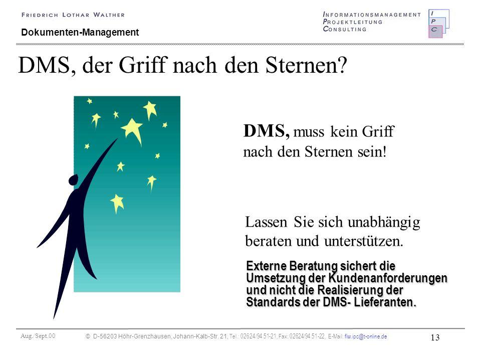 Aug./Sept.00 © D-56203 Höhr-Grenzhausen, Johann-Kalb-Str. 21, Tel.: 02624/94 51-21, Fax: 02624/94 51-22, E-Mail: flw.ipc@t-online.de 13 Dokumenten-Man