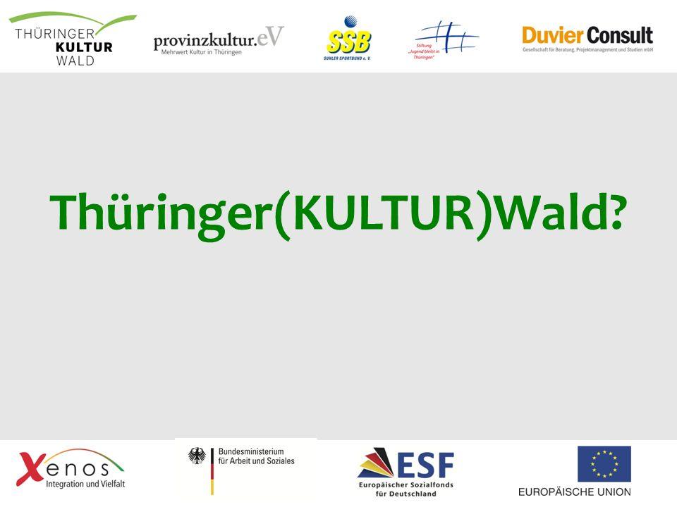 Thüringer(KULTUR)Wald?