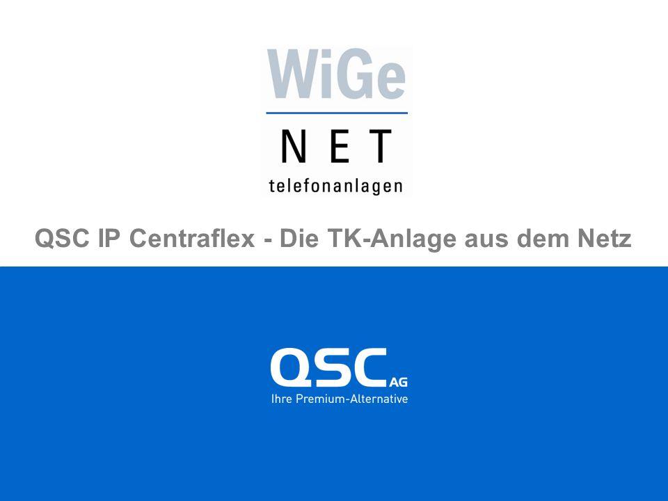 QSC IP Centraflex - Die TK-Anlage aus dem Netz
