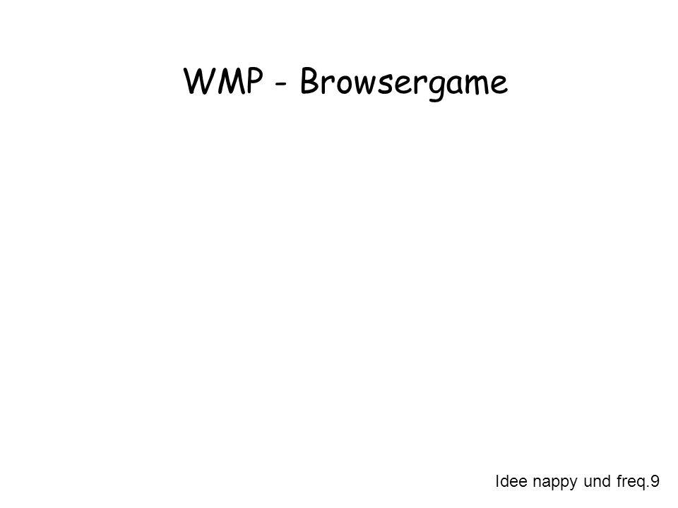 WMP - Browsergame Idee nappy und freq.9