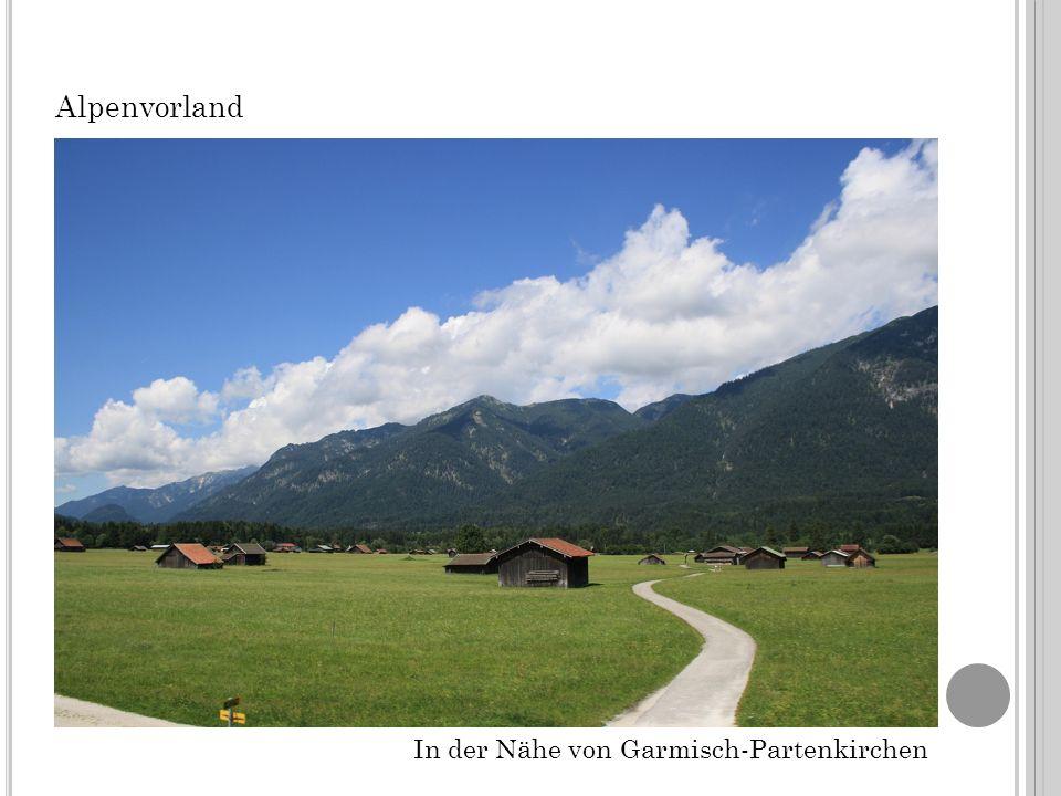 Alpenvorland In der Nähe von Garmisch-Partenkirchen