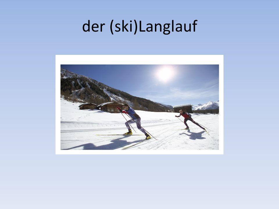der (ski)Langlauf