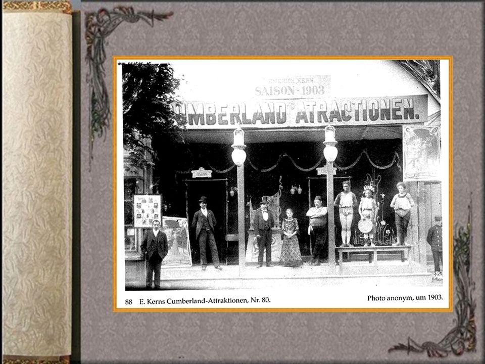 1935 brachte ein Praterunternehmer aus Chigaco die rasante Flugbahn, eine nicht auf Schienen gebundene Anlage in den Prater.