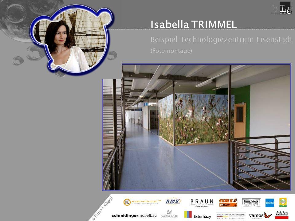 © Roman Wappl Isabella TRIMMEL Ein Wohnraumbeispiel (Fotomontage)