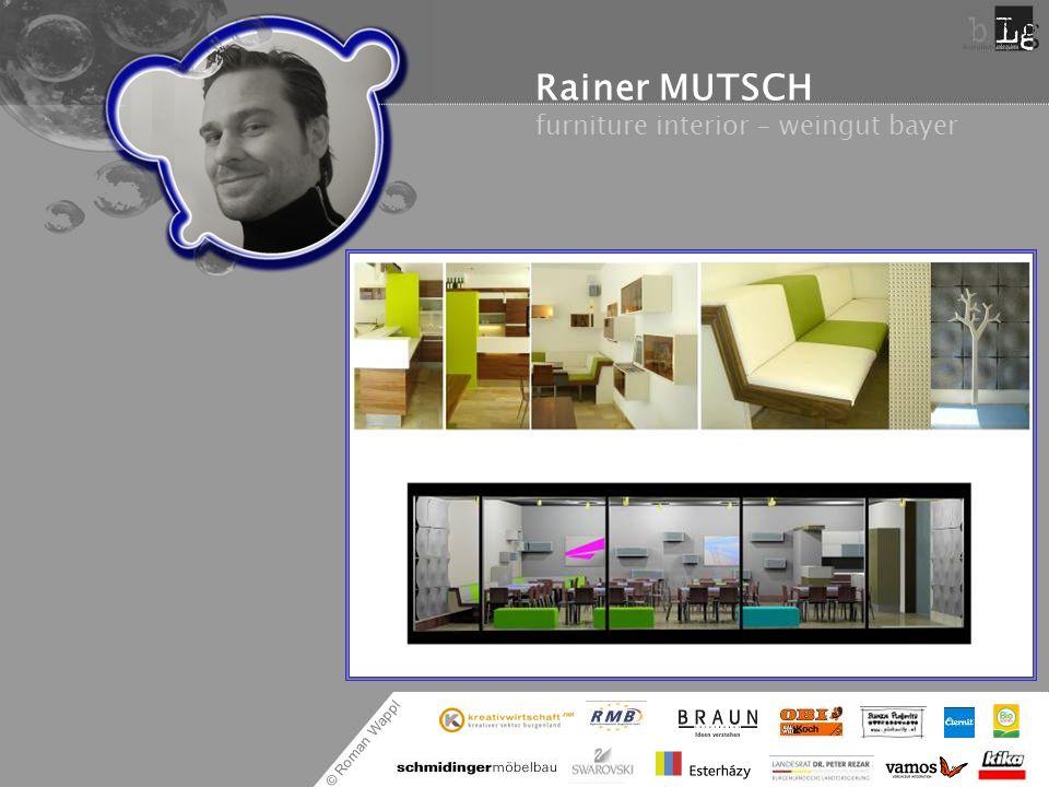 © Roman Wappl Rainer MUTSCH furniture interior – weingut bayer