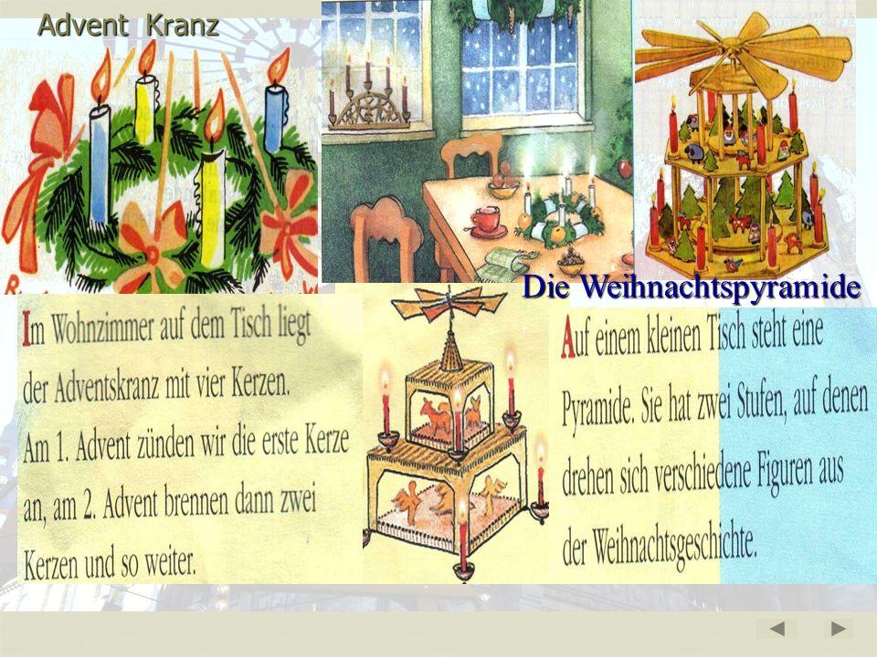 Advent- Zeit der Ankunft Christi (предрождественское время) Adventskalender 6