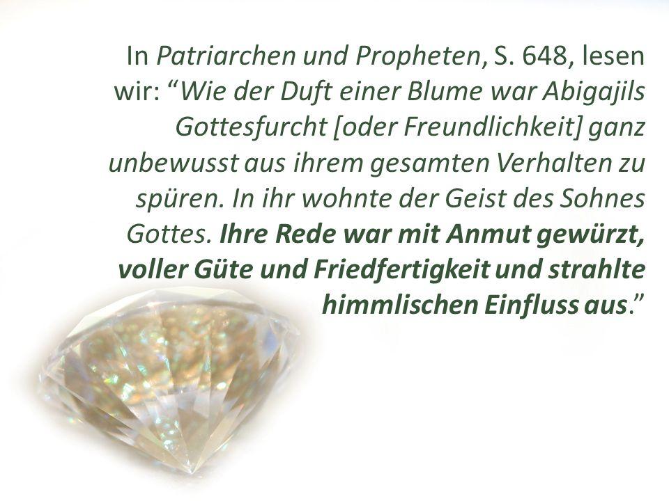 In Patriarchen und Propheten, S.