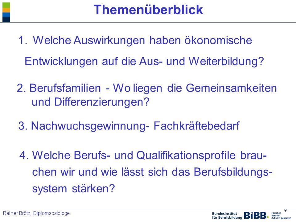 ® Rainer Brötz, Diplomsoziologe (3) Qualifikationsniveau als Standortfaktor nach IAB.