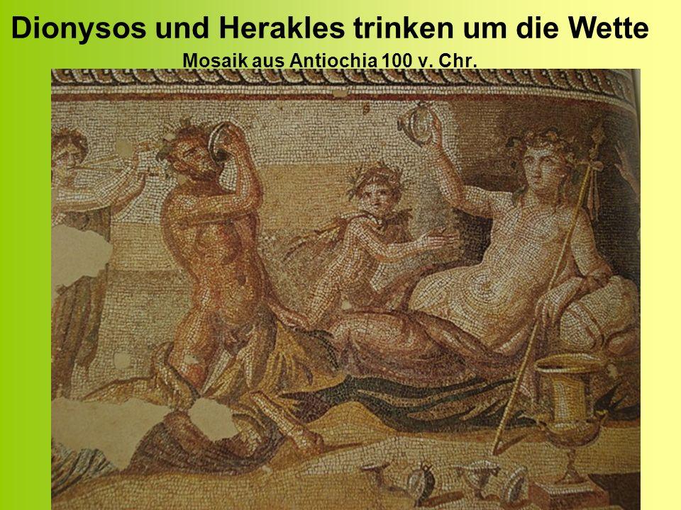 Dionysos auf dem Weg nach Italien Malerei des athenischen Malers Exekias – um 550 v.
