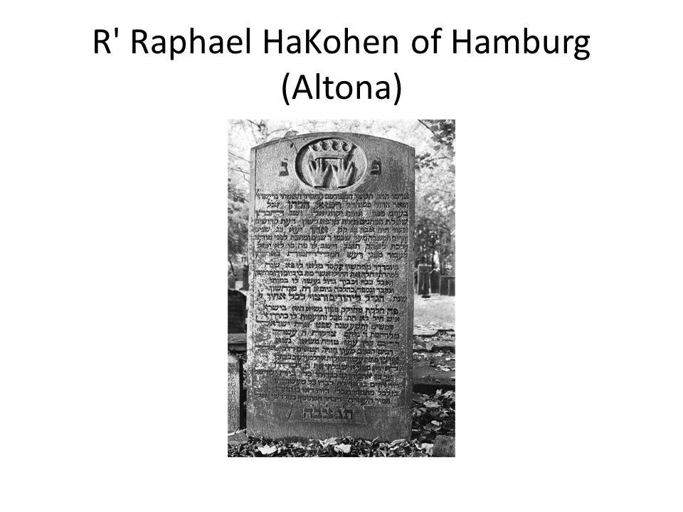 R Raphael HaKohen of Hamburg (Altona)