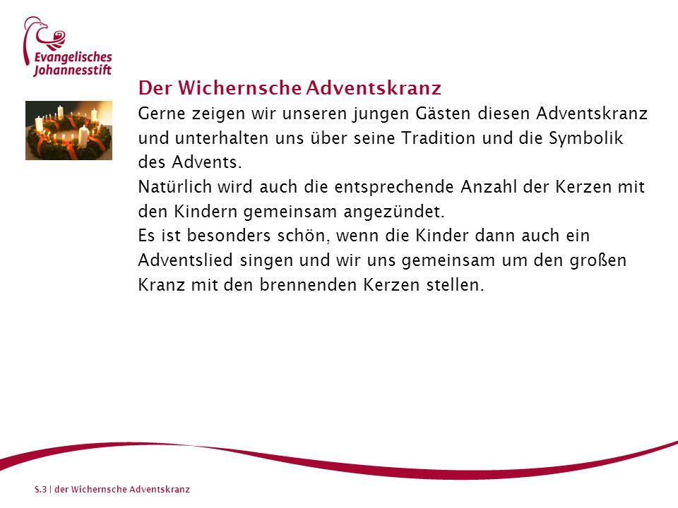 S.4 | der Wichernsche Adventskranz