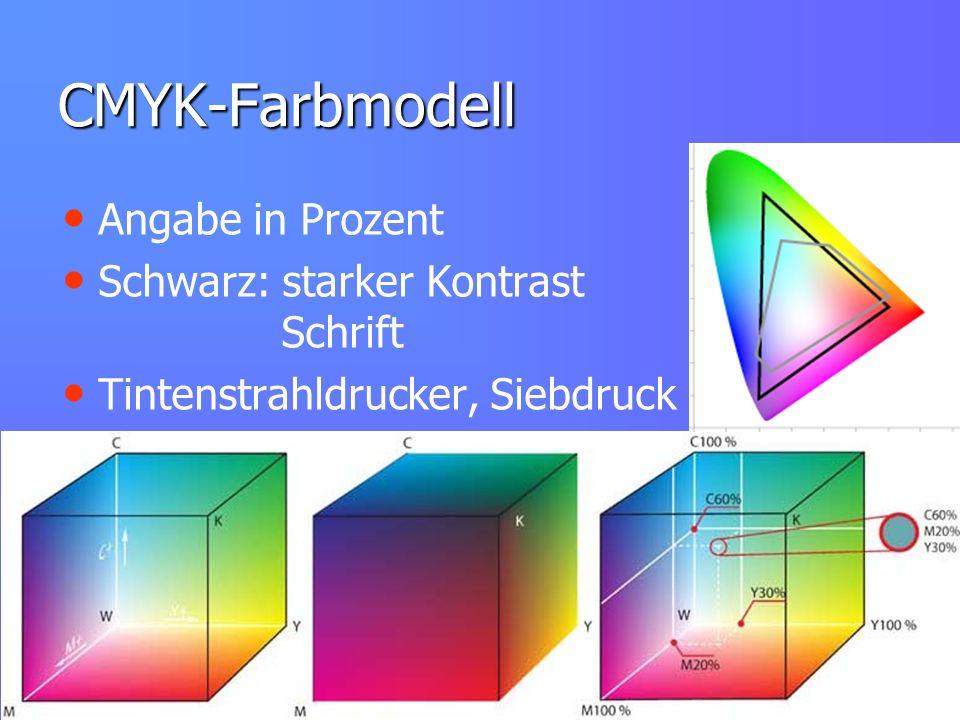 CMYK-Farbmodell Angabe in Prozent Schwarz: starker Kontrast Schrift Tintenstrahldrucker, Siebdruck