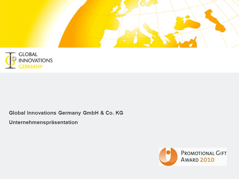 2 Unternehmensportrait Die Global Innovations Germany GmbH & Co.