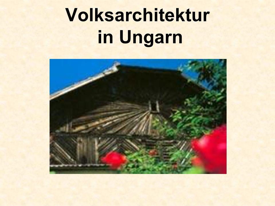 Die strohgedeckten Häuser in Tihany am Balaton sind ebenfalls denkmalgeschützt.