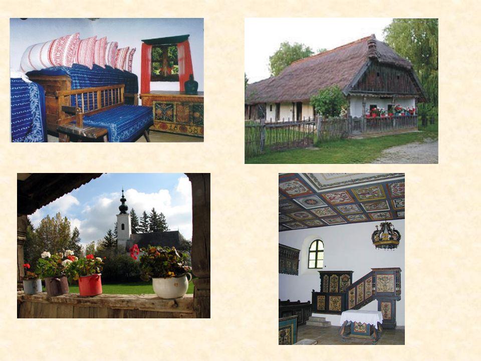 Folklorensammlung in Szenna Die im Jahre 1982 mit Europa Nostra Preis ausgezeichnete Folklorensammlung in Zselic befindet sich 8 km weit von Kaposvár,