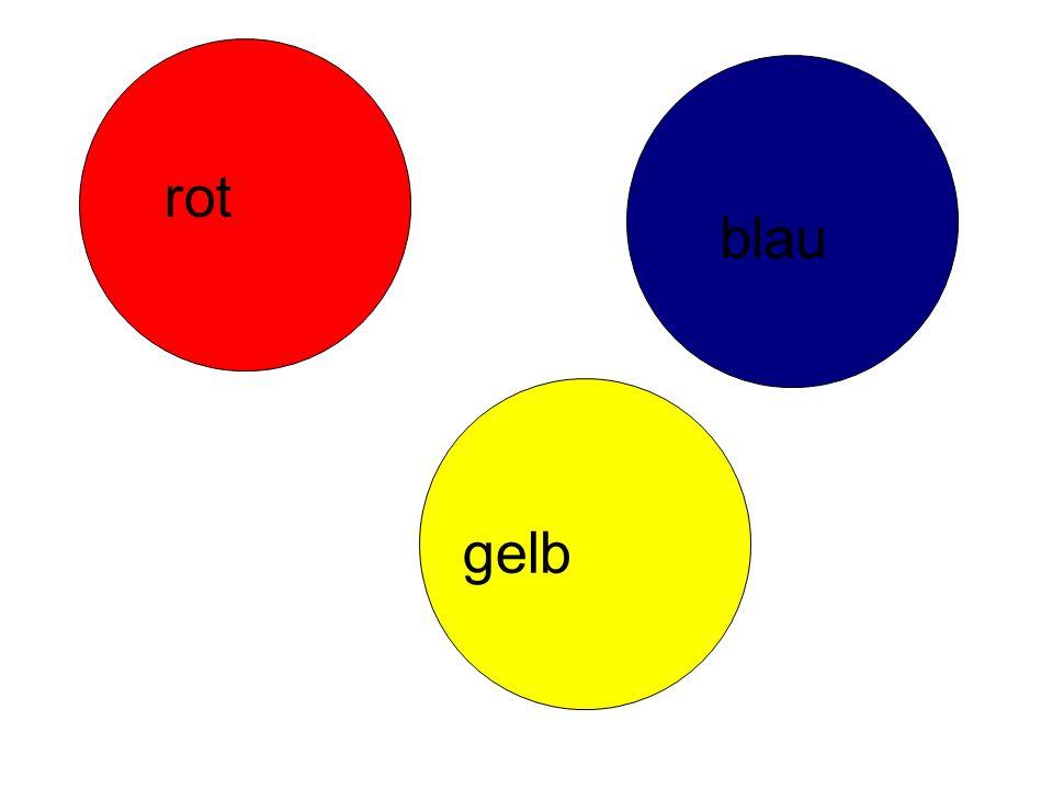 rot blau gelb