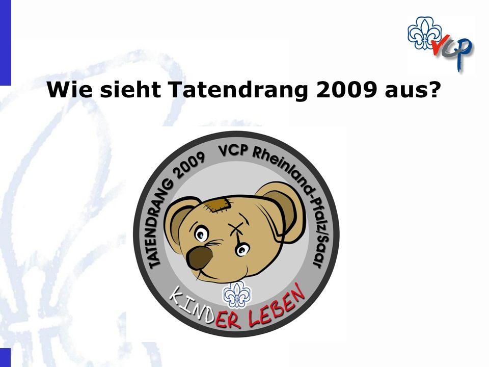 Wie sieht Tatendrang 2009 aus?