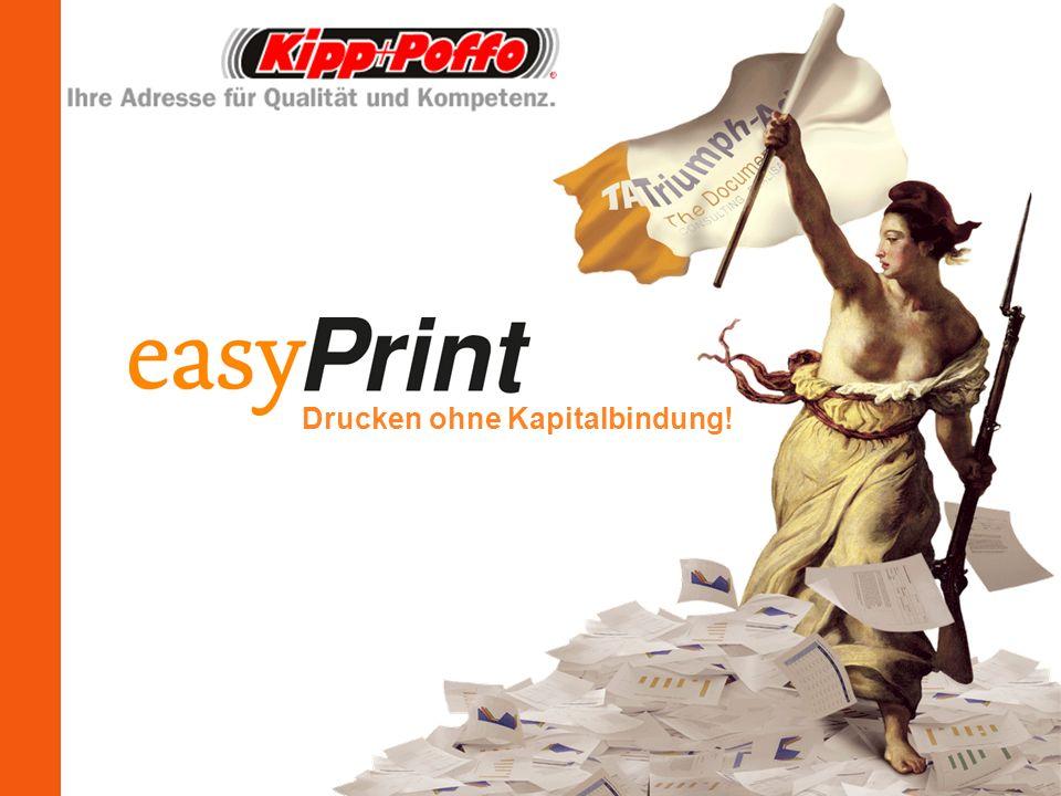Drucken ohne Kapitalbindung!