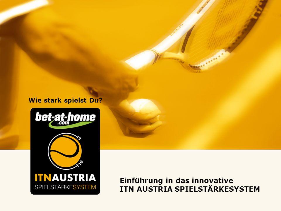 Wie stark spielst Du Einführung in das innovative ITN AUSTRIA SPIELSTÄRKESYSTEM