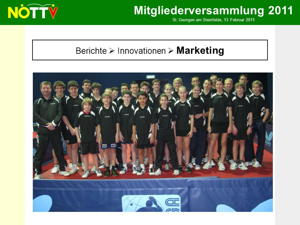 Mitgliederversammlung 2011 St. Georgen am Steinfelde, 13.