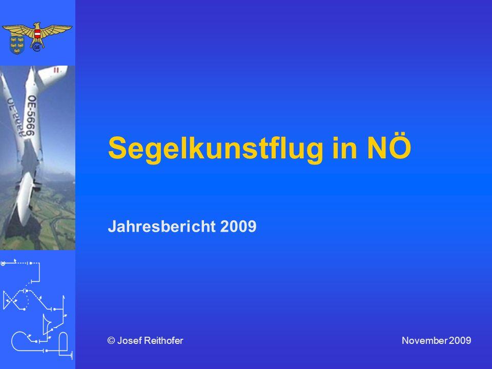 Segelkunstflug in NÖ Jahresbericht 2009 November 2009© Josef Reithofer