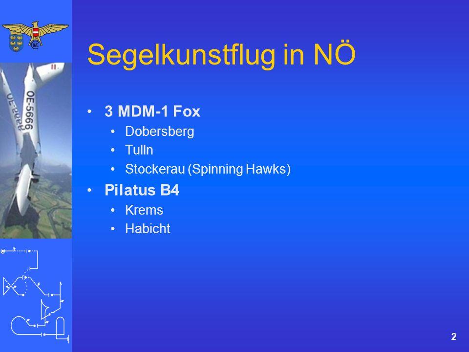 Segelkunstflug in NÖ 3 MDM-1 Fox Dobersberg Tulln Stockerau (Spinning Hawks) Pilatus B4 Krems Habicht 2
