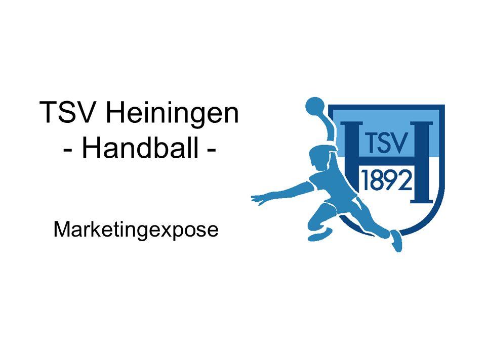 12 TSV Heiningen – Handball Beschreibung der Werbemöglichkeiten: Kunden- bzw.