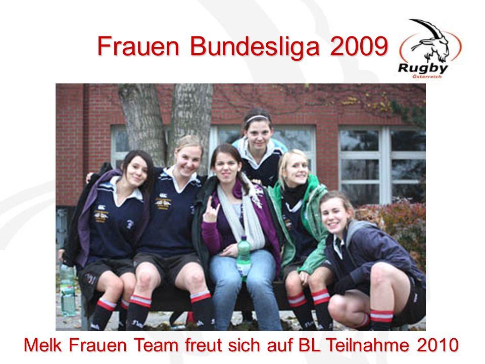 Frauen Bundesliga 2009 Melk Frauen Team freut sich auf BL Teilnahme 2010