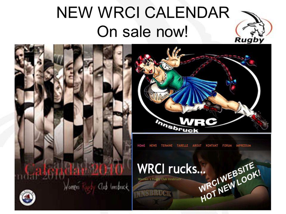 NEW WRCI CALENDAR On sale now! WRCI WEBSITE HOT NEW LOOK!