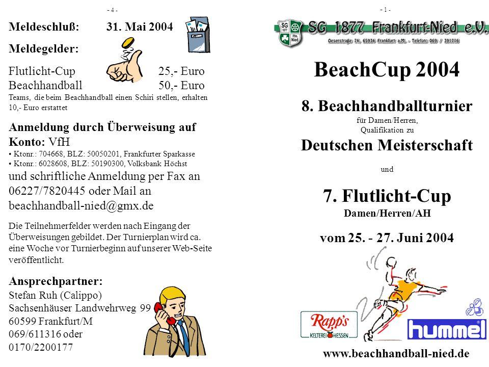 Flutlicht-Cup am Freitag, den 25.