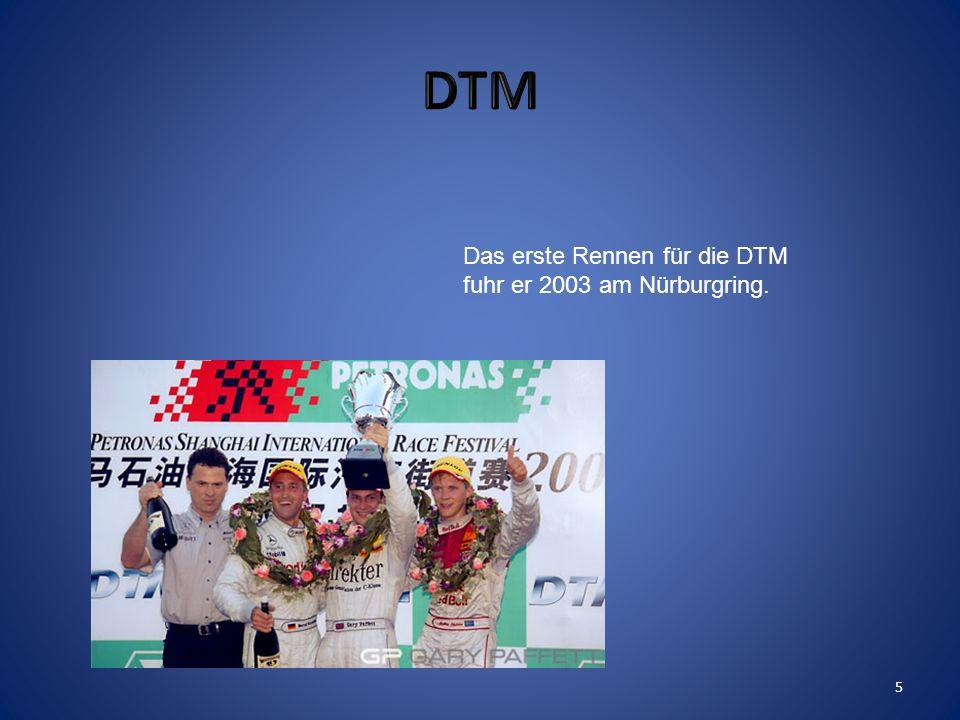Er fuhr 3 Jahre Formel 3. 4
