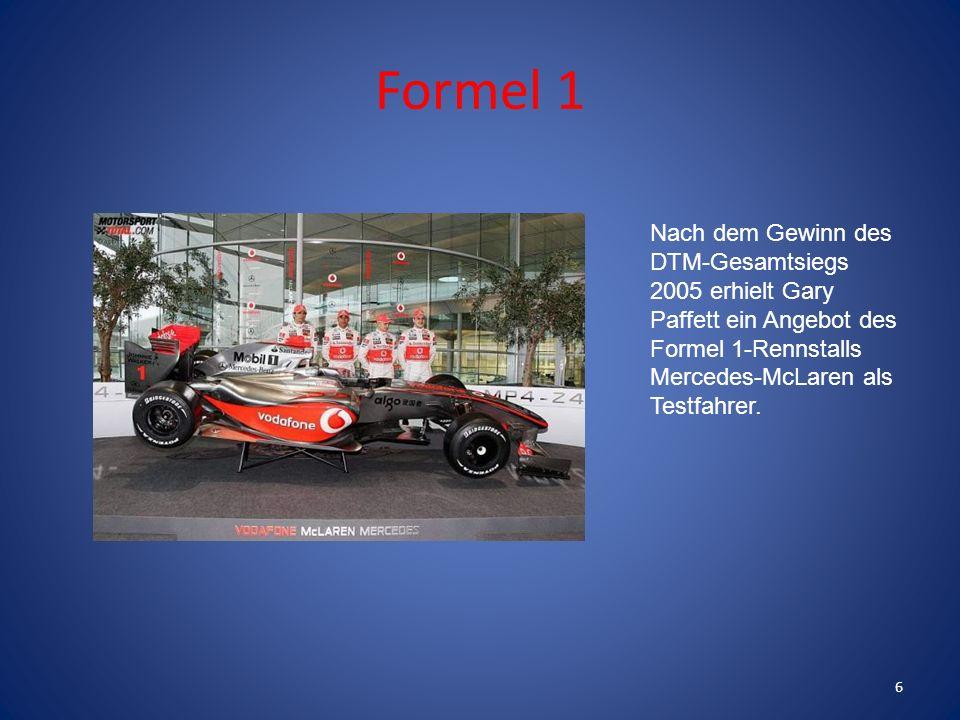 Das erste Rennen für die DTM fuhr er 2003 am Nürburgring. 5
