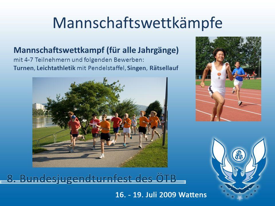 8. Bundesjugendturnfest des ÖTB 16. – 19. Juli 2009 Wattens Sei dabei! Wir freuen uns auf DICH!