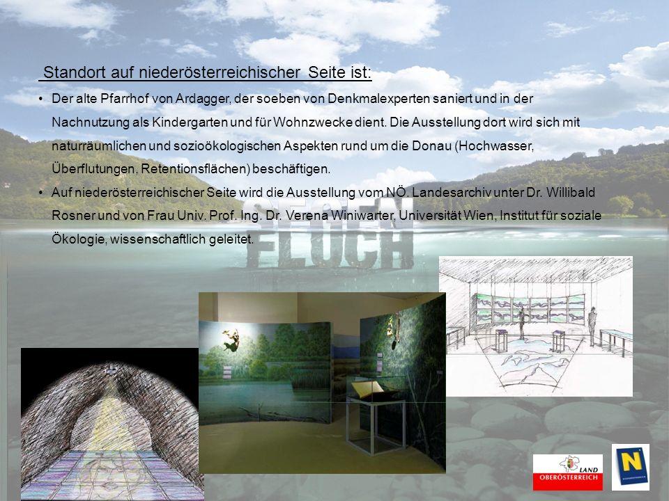 Ein umfassendes Rahmenprogramm: Die Ausstellung Donau – Fluch und Segen bietet den Besucherinnen und Besuchern auch die Gelegenheit, sich mit dem Kulturschaffen in der Ausstellungsregion, sowohl in Niederösterreich als auch in Oberösterreich, vertraut zu machen.