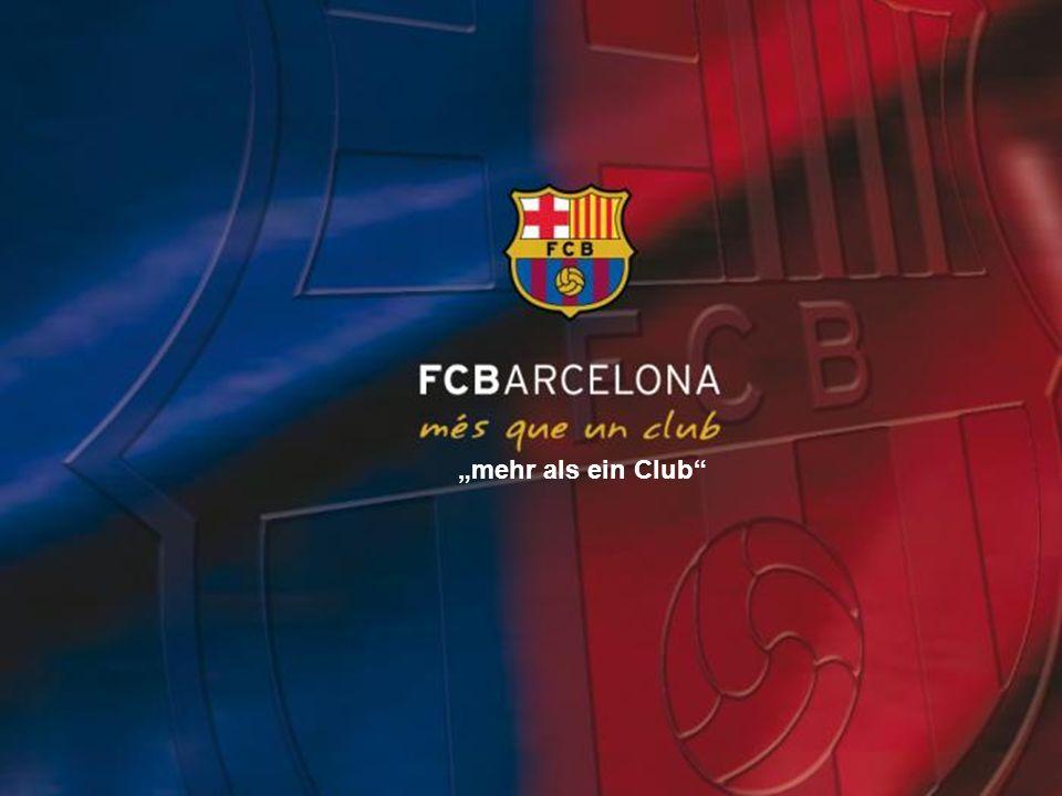 Inhaltsverzeichnis der Präsentation I.Geschichte des Clubs II.Stadion Camp Nou III.Die größten Erfolge IV.Ehemals besten Spieler V.Aktuelles über den Club