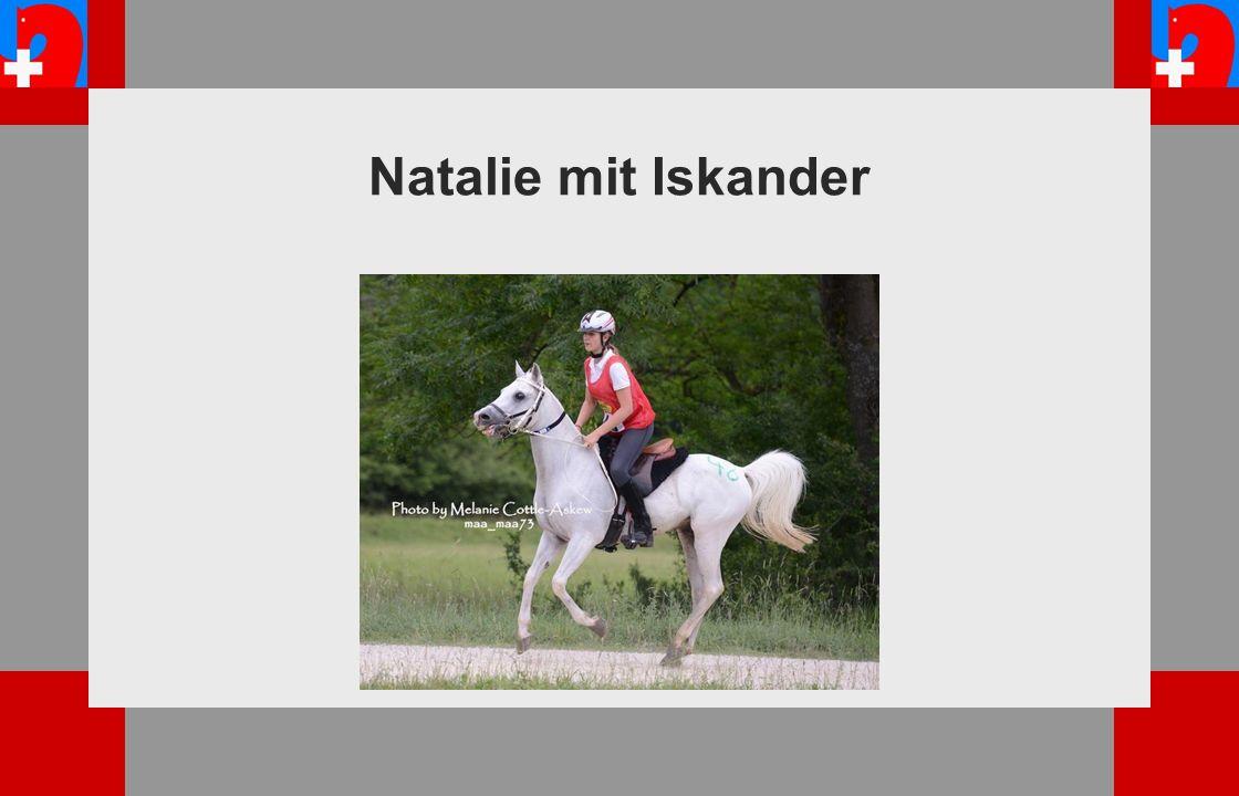 Natalie mit Iskander