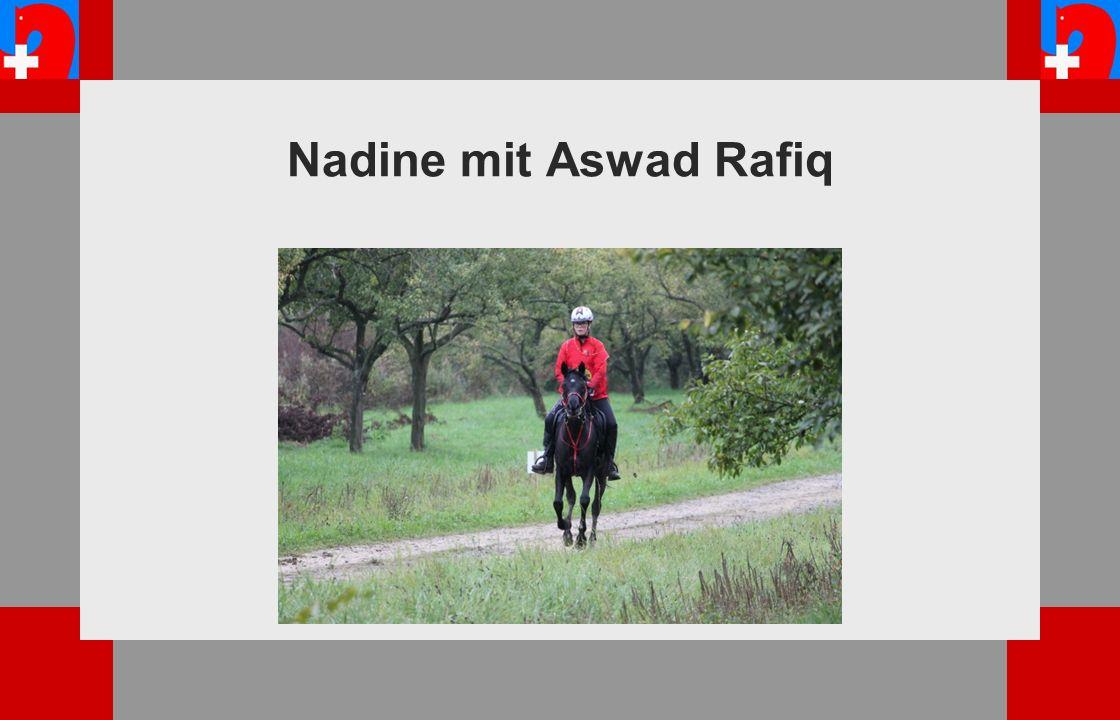 Nadine mit Aswad Rafiq