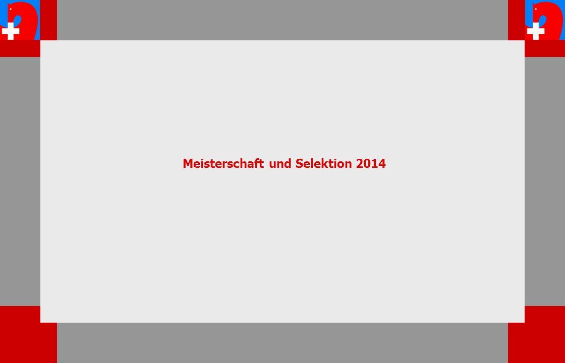 Meisterschaft und Selektion 2014