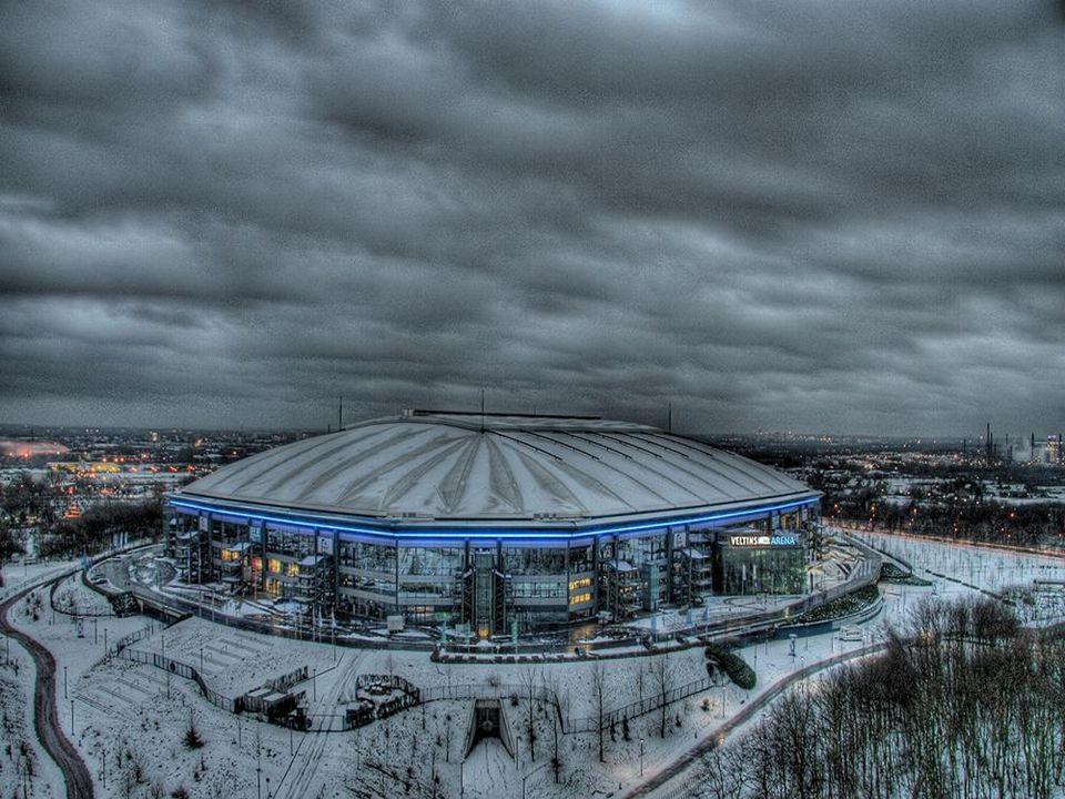 Und hier ist sie Unser Tempel Unser Wohnzimmer Unsere Arena Auf Schalke