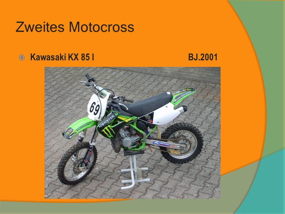 Zweites Motocross Kawasaki KX 85 IBJ.2001