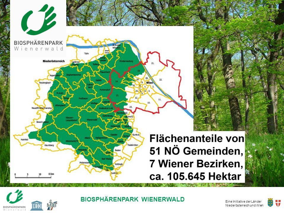 Eine Initiative der Länder Niederösterreich und Wien BIOSPHÄRENPARK WIENERWALD