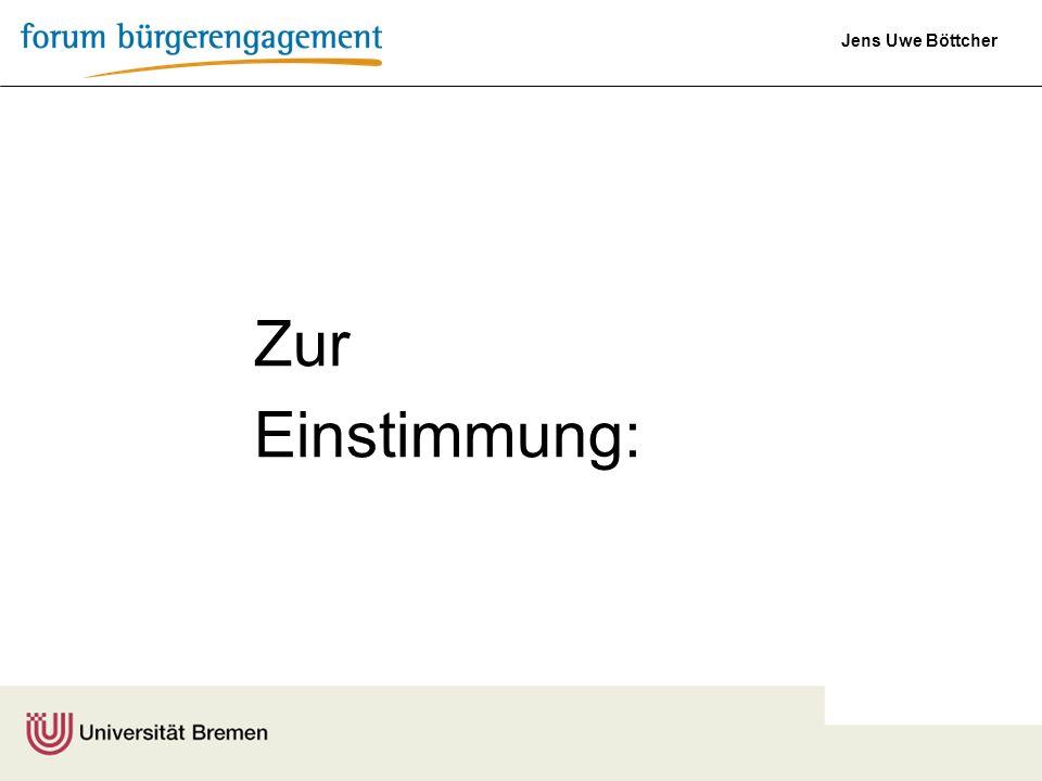 Jens Uwe Böttcher Worum es im Kern geht: Warum soll ich Dir was geben?