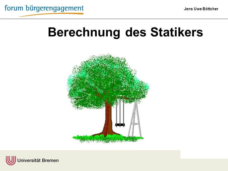 Jens Uwe Böttcher Berechnung des Statikers