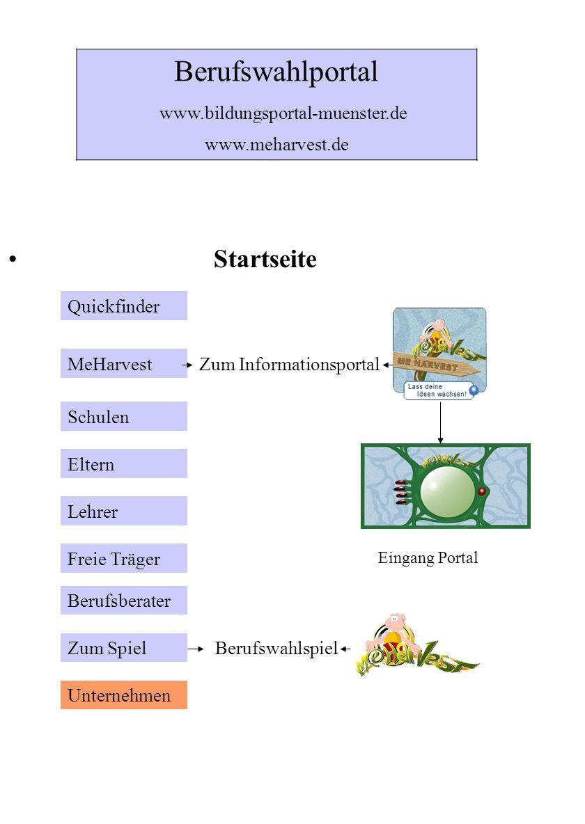 Eingang Informationsportal