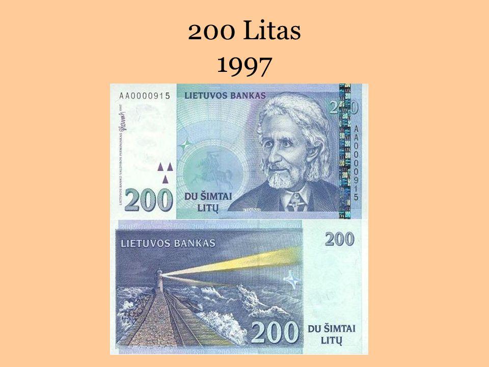 200 Litas 1997