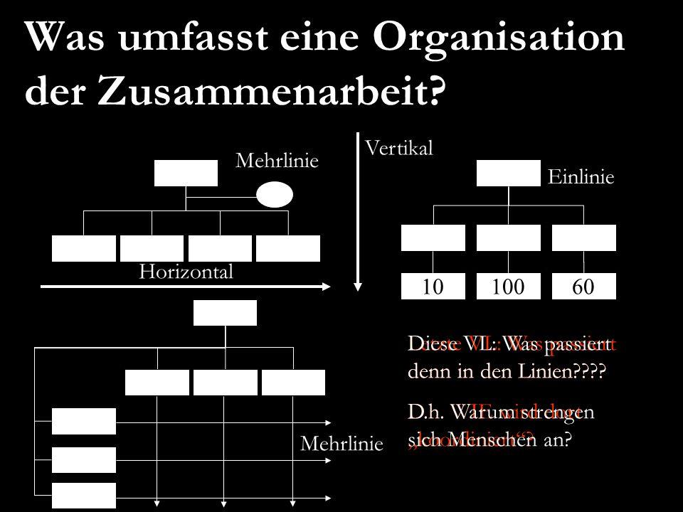 Weibel/Rost/Osterloh 2 EURAM 2007, May 16 – 19, Positive Organizational Studies and Organizational Energy Was umfasst eine Organisation der Zusammenar